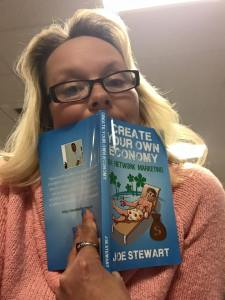 Author of Create Your Own Economy Network Marketing MLM Book Joe Stewart Facebook testimonial