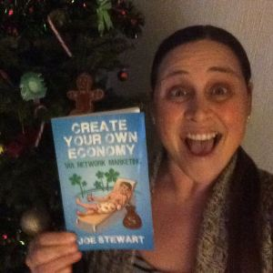 Author of Create Your Own Economy Network Marketing MLM Book Joe Stewart Facebook