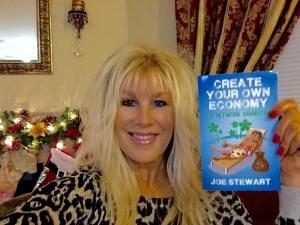 Author of Create Your Own Economy Network Marketing MLM Book Joe Stewart Facebook Ann Schierling