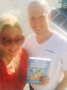 Author of Create Your Own Economy Network Marketing MLM Book Joe Stewart Facebook Karen Dion Gardner