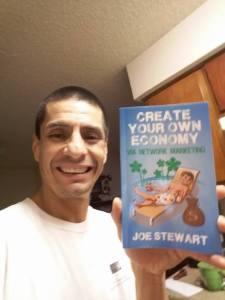 Author of Create Your Own Economy Network Marketing MLM Book Joe Stewart Facebook Richard Contreras