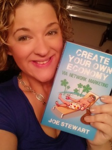 Author of Create Your Own Economy Network Marketing MLM Book Joe Stewart Facebook Tawny Lynn Milton Chuck Marshall Washougal Washington Empower Network Scam