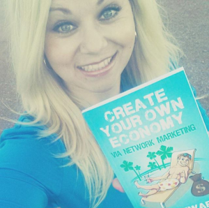 Author of Create Your Own Economy Network Marketing MLM Book Joe Stewart Facebook Sherilynn wyatt