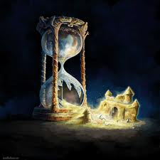 hourglass, waste of time