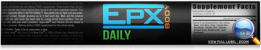 epx Body daily seaveg