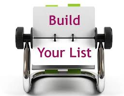build your list