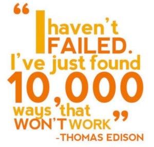 thomas edison failure