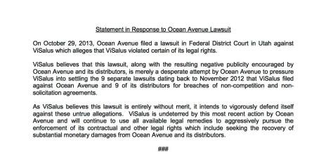 visalus lawsuit