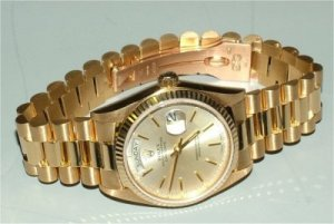 Gold Rolex Presidential