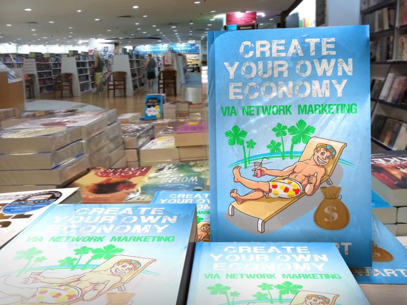 Joe Stewart Facebook Author Create Your Own economy network marketing MLM business writer gopro book