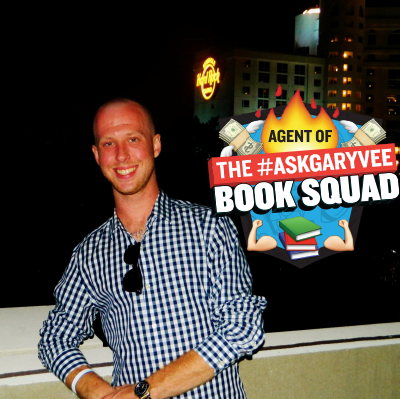 #AskGaryVee Book SQuad One Entrepreneur's Take on Leadership, Social Media, and Self-Awareness. Joe Stewart Facebook author create your own economy network marketing MLM