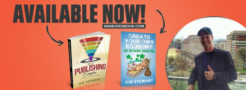 Author Joe Stewart's New Book Self-Publishing Empire